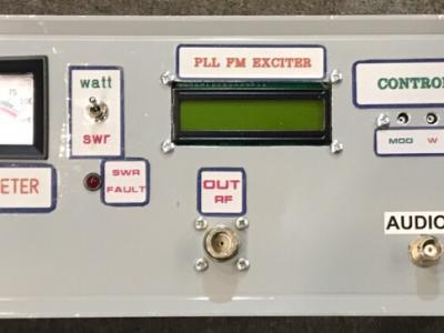 PLL FM EXCITER 0-60 WATT