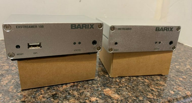 BARIX 100 – Instreamer & Extreamer